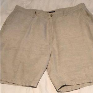 NAUTICA - Beige Bermuda Shorts - Classic Fit